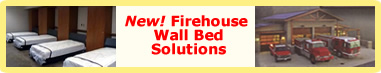 click for information about the Hoosier Firehouse Wall Bed Solutions